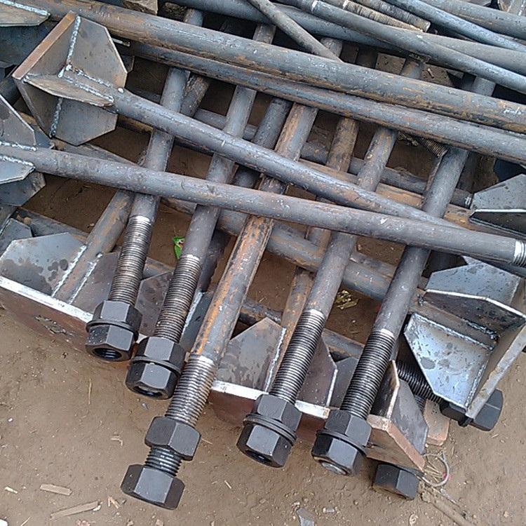 焊接底板型地脚螺栓-京博装备自制