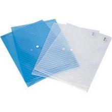 京博自营印友透明档案袋塑料档案袋5501