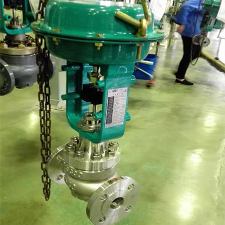 厂家直销质量保证重庆川仪调节阀单座气动调节阀