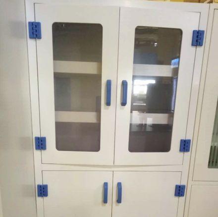 实木试剂柜存储柜试验柜药品柜1800*900*400mm对开门