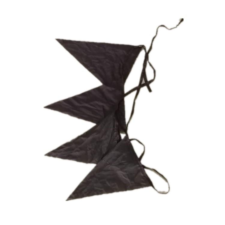 警戒绳三角旗规格咖啡色20cm*30cm下单请拍50的倍数
