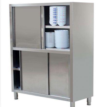 不锈钢储物柜+不锈钢碗柜+不锈钢拉门柜+食品柜+不锈钢厨子