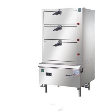 泰尔优质商用电加热海鲜蒸柜