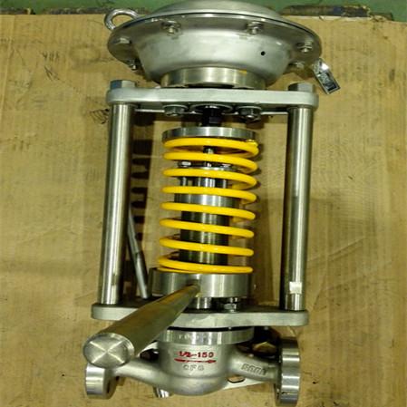 厂家直销质量保证重庆川仪调节阀自力式气动调节阀