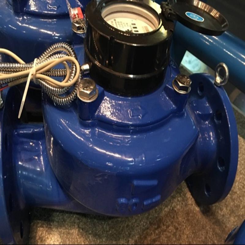 宁波牌20#带通讯水表_DN125通讯防水非脉冲电直读
