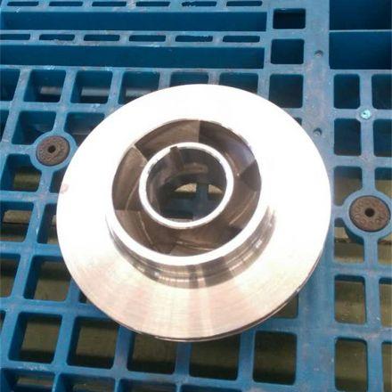 316L叶轮加工定制厂家直销泵配件水泵叶轮
