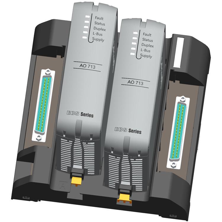【ECS-700】电流信号输出模块AO713