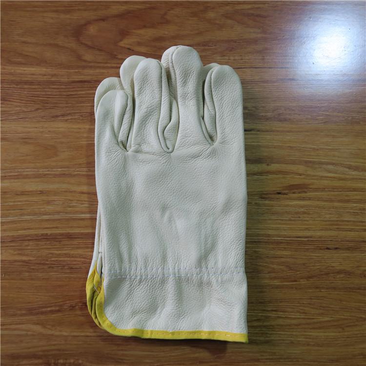 京博官方自营翻皮手套保暖防风耐用焊接防烫