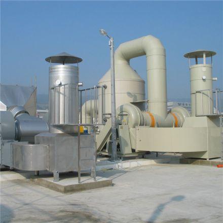 Q245R水洗塔废气处理设备工业洗涤塔净化塔